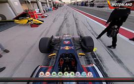 Vídeo 360º with Carlos Sainz Jr.